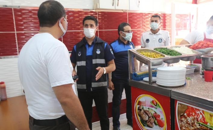 Haliliye Belediyesi salgınla mücadelede kararlı