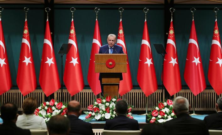 Kabine sonrası Erdoğan'dan flaş açıklamalar