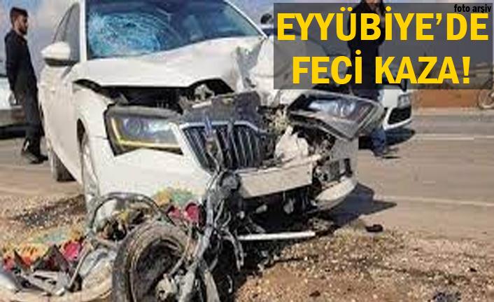 Motosikletli sürücü hayatını kaybetti..