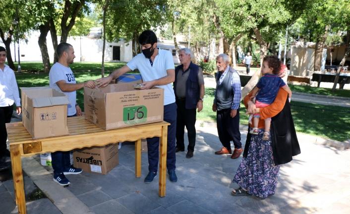 Siverek'te 20 bin kişiye aşure dağıtıldı