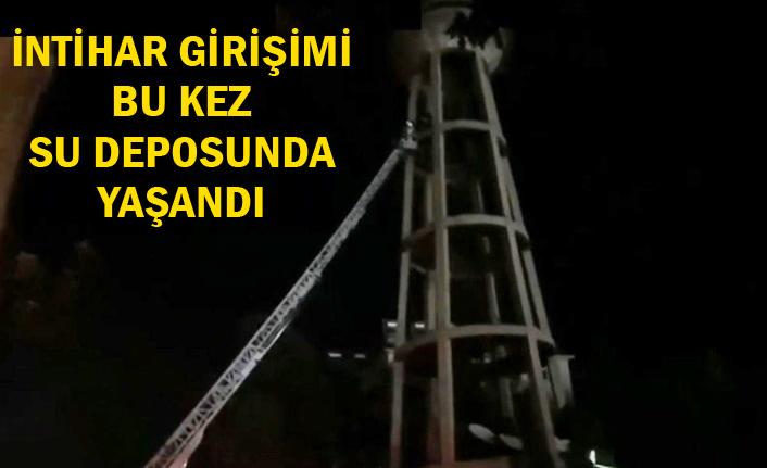 Urfa'da gece saatlerinde intihar girişimi!