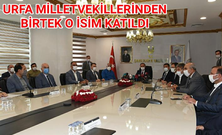 Urfa'da kritik toplantı!