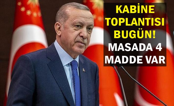 Erdoğan toplantı sonrası açıklama yapacak