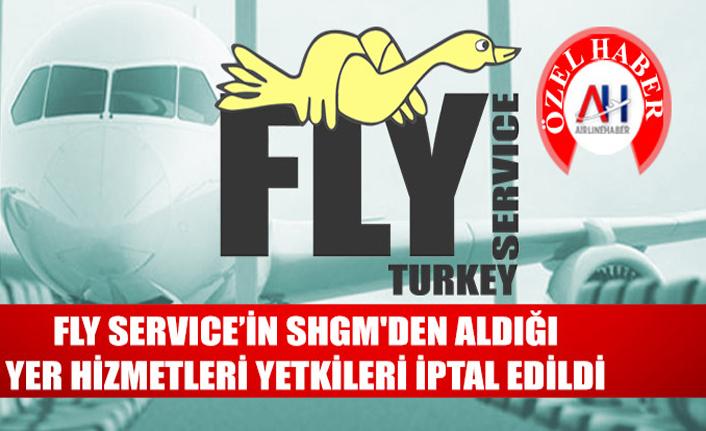 FLY servisinin SHGM'den aldığı yetkiler iptal edildi