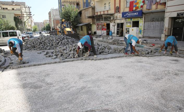 Haliliye'de 2 mahallede üst yapı çalışmaları sürüyor