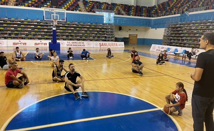 Urfa'da basketbol hakemleri start verdi