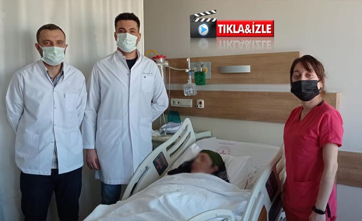 Urfa'da ileri evre dudak kanseri ameliyatı başarıyla sonuçlandı
