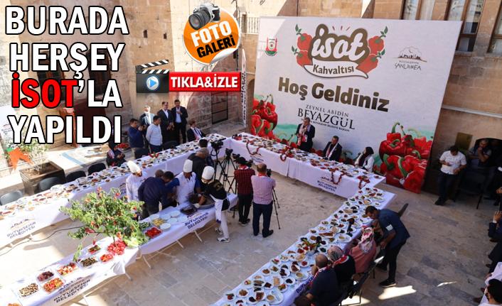 Urfa'da kahvaltının vazgeçilmezi...