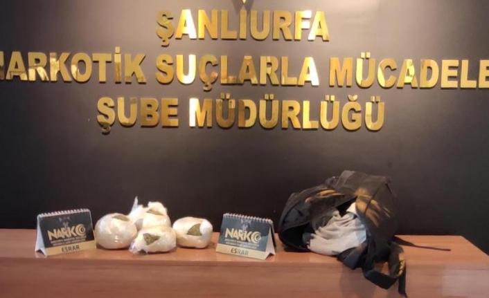 Urfa'da uyuşturucu operasyonu!