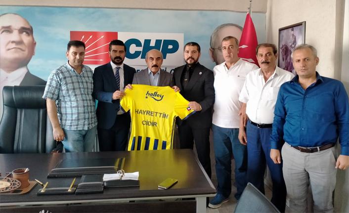 Urfalı Fenerliler CHP'yi ziyaret etti