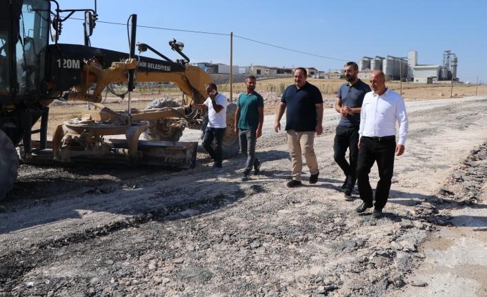 Viranşehir OSB'de üst yapı çalışmaları sürüyor