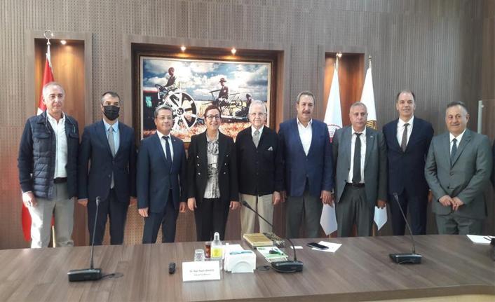 Başkan Kaya ilk toplantısına katıldı