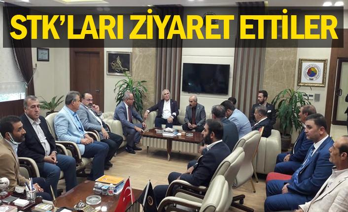 CHP'li 7 Vekil Urfa'ya geldi