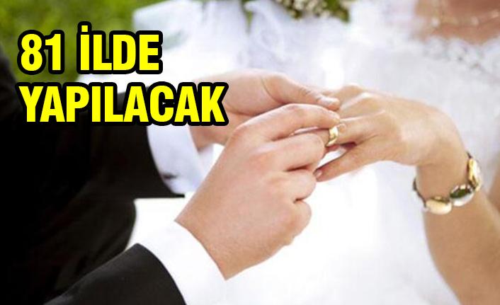 Evlenecek çiftler dikkat!