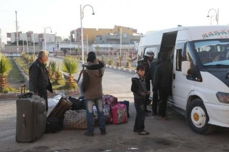 500 Türkmen, Akçakale'ye geldi