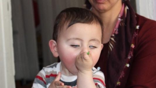 Abdullah Bebek Yardım Bekliyor