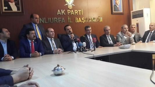 AK Parti, Urfa'da 2 ilçeye itiraz edecek