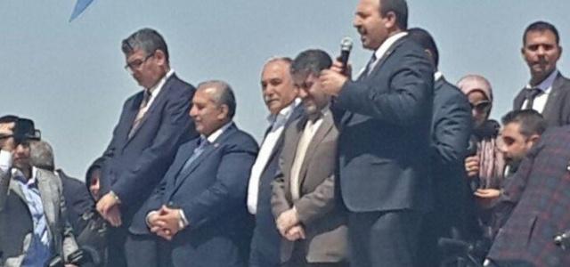 AK Partili adaylarının moral bulduğu ilçe...