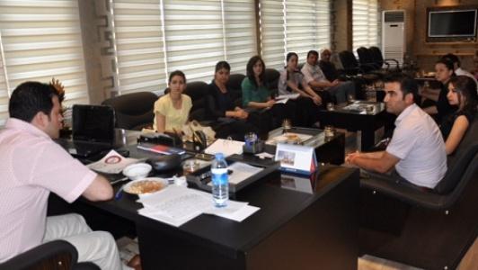 Akçakale'de proje ofisi kuruldu