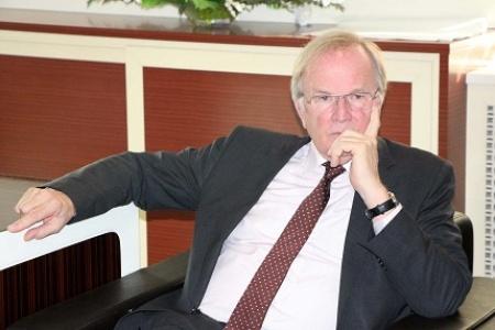 Alman Büyükelçisi, Suruç'ta konuştu