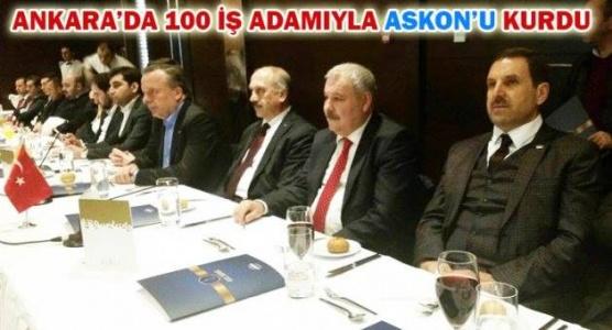 Ankara ASKON Eyyüpoğlu'na emanet
