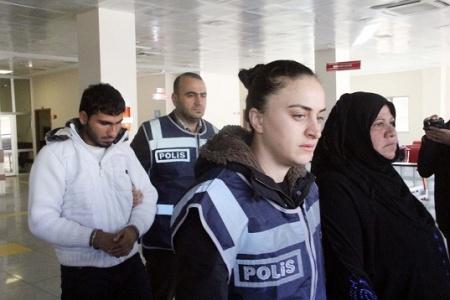 Anne ve oğlu gözaltına alındı!