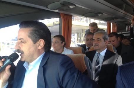 Bakan ve Başkanlar şehir turuna çıktı