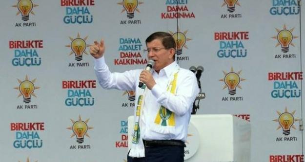 Başbakan Urfa'da konuştu