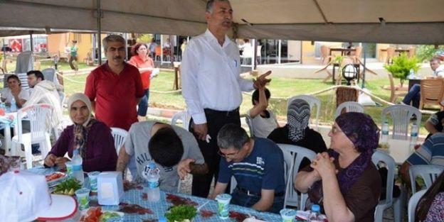 Başkan Ballı Engellilerle Yemekte Buluştu