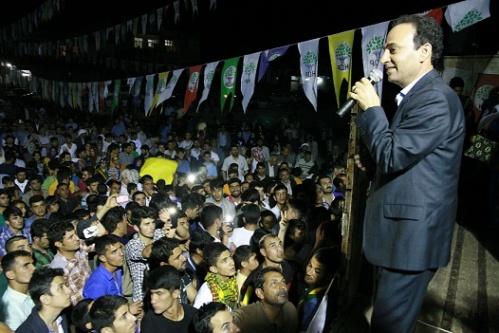 Baydemir: Batıya fabrika yol Urfa'ya jandarma karakol