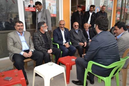 Bayık Siyasi Partileri Ziyaret Etti