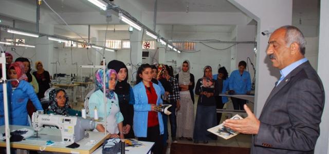 Bayık Tekstil İşçileriyle Buluştu