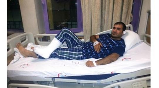 Bingöl'de darp edilen doktorun tedavisi Urfa'da yapılıyor