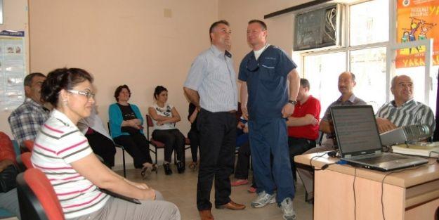 Bozyazı'da Sağlık Çalışanlarına 'etkili İletişim' Eğitimi