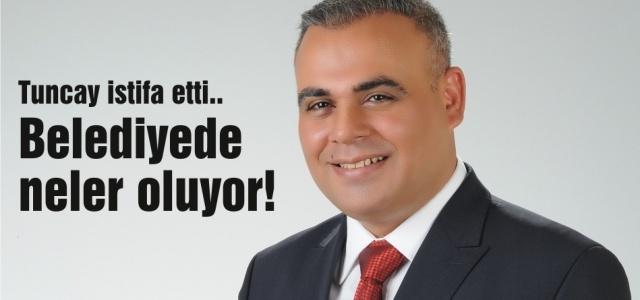 Büyükşehir'de istifa depremi