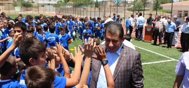 Yaz Spor Okulu Büyük Coşkuyla Açıldı