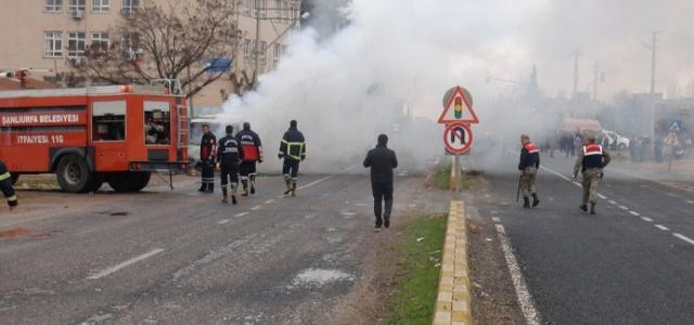 Öğrenci öldü, minibüs ateşe verildi