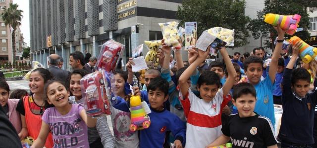 Çocukları sevindirecek kampanya
