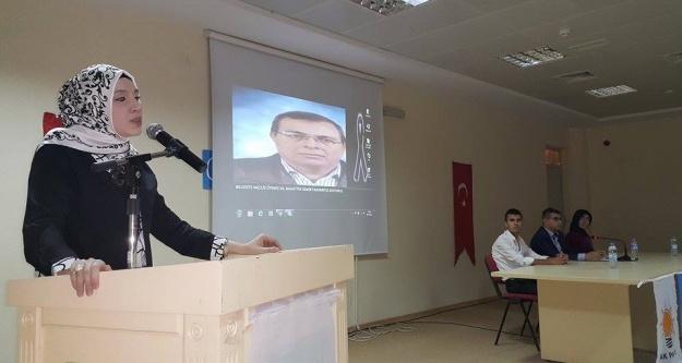 Danışma Meclisi toplantısında Demir'i andılar..