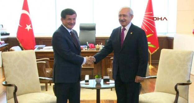 Davutoğlu'dan flaş koalisyon açıklaması