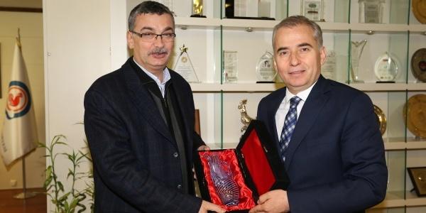Denizli'de Mevkidaşı ile Belediyeciliği konuştu