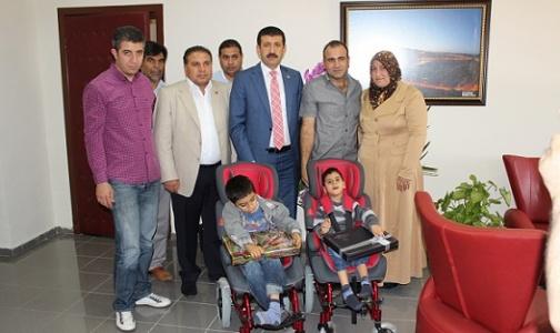 Ekinci; 'Engelli çocuklara karşı duygu yüklüyüz'