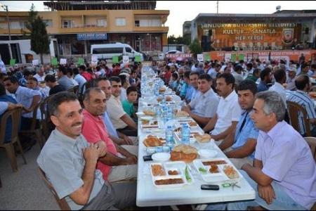En yoğun katılımlı iftar yemeği