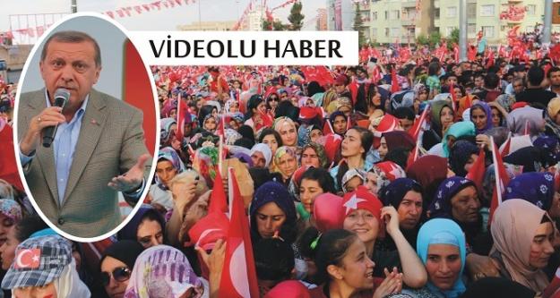 Erdoğan Urfa'da konuştu