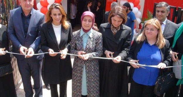 First Lady, Eyyübiye'de açılışa katıldı
