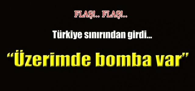 Flaş!Urfa'da Bomba yüklü kadın yakalandı.