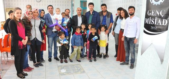 Şanlıurfa Genç MİSİAD, 23 Nisan çocuklarını eğlendirdi