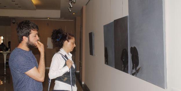 Genç Ressam Övünç Demiray İlk Kişisel Resim Sergisini Açtı
