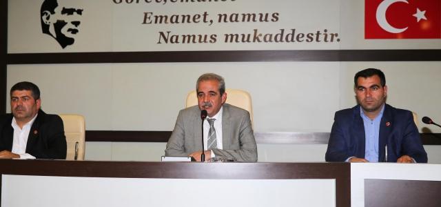 Haliliye Belediyesi Kasım Ayı Meclis toplantıları sona erdi
