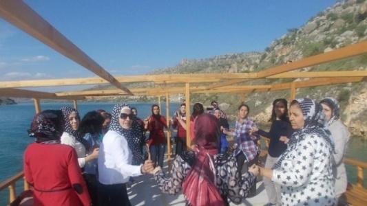 Halk Eğitim Kursiyerlerine Halfeti Gezisi